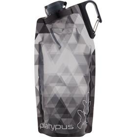 Platypus DuoLock Soft Bottle 1000ml gray prisms